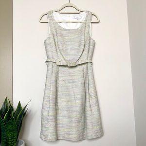 Trina Turk Colorful Belted Sleeveless Dress 6